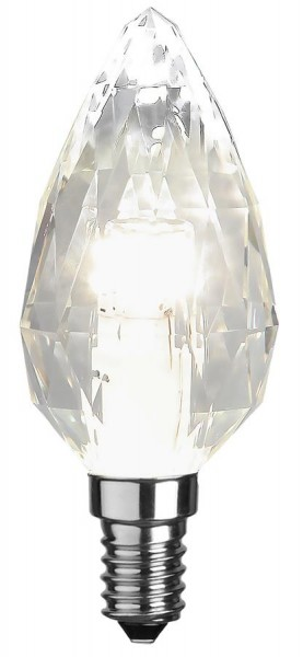 LED Kerzenlampe DIAMOND C35 - E14 - 4W - neutralweiss 4000K - 380lm - dimmbar