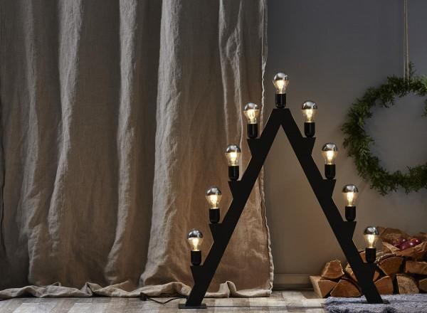 LED Leuchtmittel FILA TOP COATED silber A60 - E27 - 4W - WW - 350lm - dimmbar