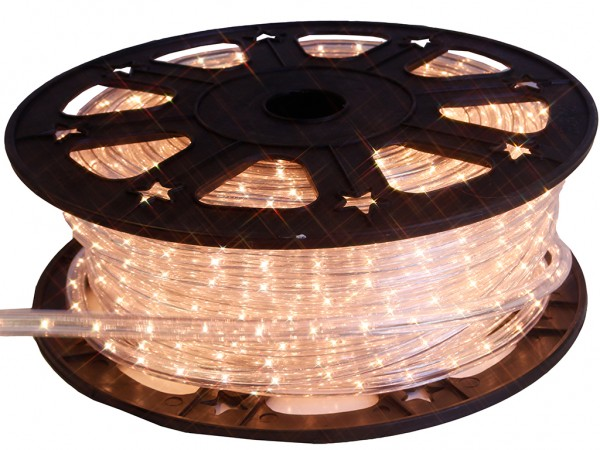 Lichtschlauch | Outdoor | 1620 Lampen | 45,00m | Kürzbar | Warmweiß