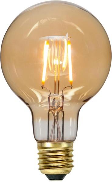 LED Leuchtmittel FILA GLOW G80 - E27 - 0,75W - ultra-WW 2000K - 80lm - amber