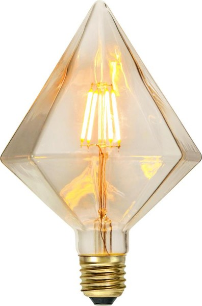 LED DEKO Leuchtmittel DIAMANT - E27 - 1,65W - warmweiss 2200K - 100lm - dimmbar