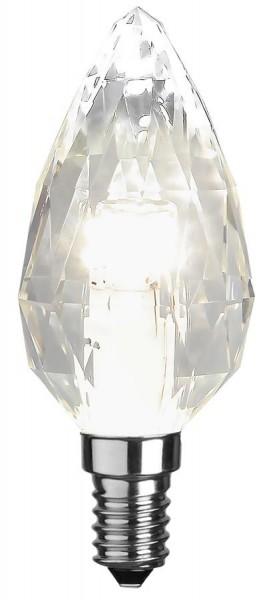 LED Kerzenlampe DIAMOND C35 - E14 - 4W - neutralweiss 4000K - 435lm - dimmbar