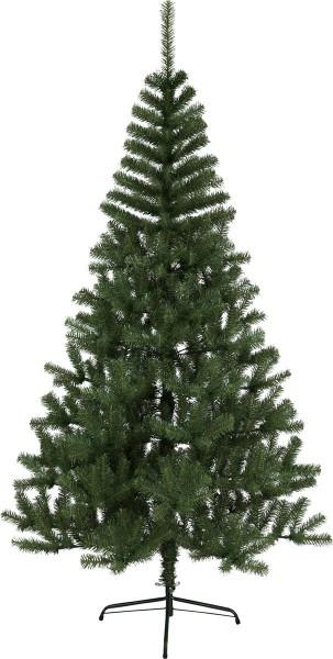 """Weihnachtsbaum """"Kanada"""" - H: 210cm, D: 110cm - Farbe: grün - mit Metallfuss -  outdoor"""