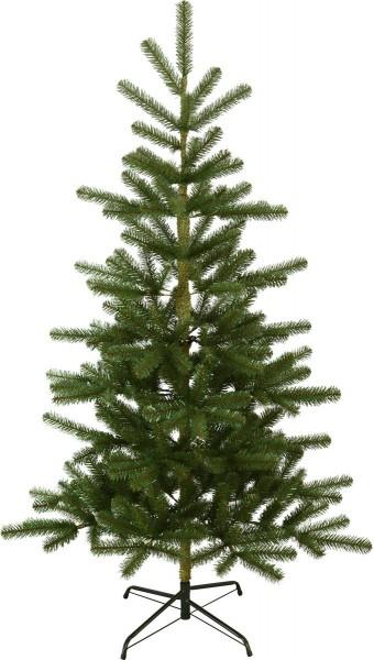 "Weihnachtsbaum ""Visby"" - H: 180cm, D: 106cm - grün - Metallfuss - outdoor"