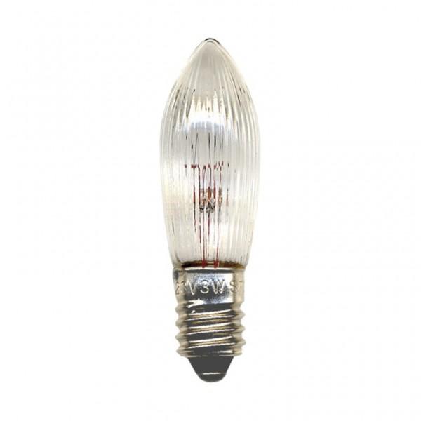 Ersatz-Leuchtmittel - E10 - 34V - 3W - Warmweiß - 3 Stück