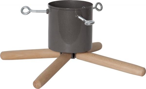 Baumständer im skanivanischen Design - Stamm 3-11cm - Baumhöhe bis 220cm - 1L Wassertank