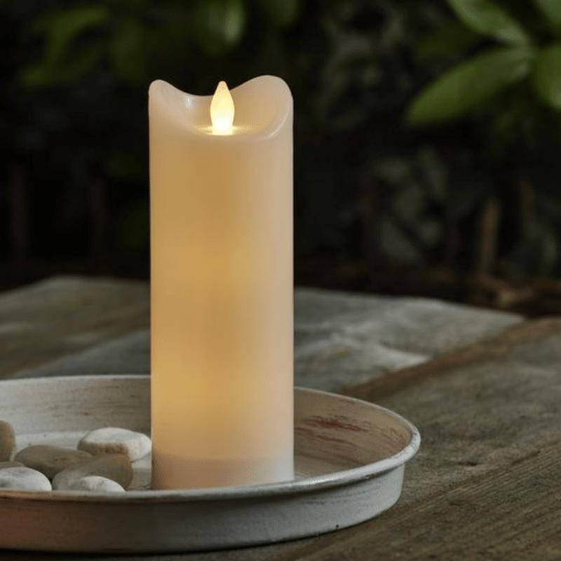 /Ø 10cm LED-Kugel Kugellampe mit Timer batteriebetrieben 6 Stunden AN | 18 Stunden AUS warmwei/ß