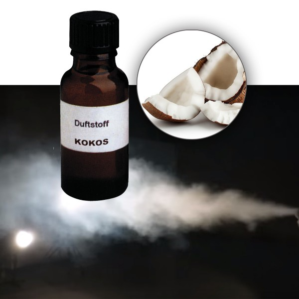 Duftstoff für Nebelfluid KOKOS - 20ml Flasche
