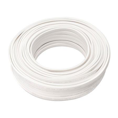 Illu Zubehör | Kabel weiß ohne Fassungen | H05RN-H2-F 2 x 1,5mm² | Meterware - 1m Schnittlänge