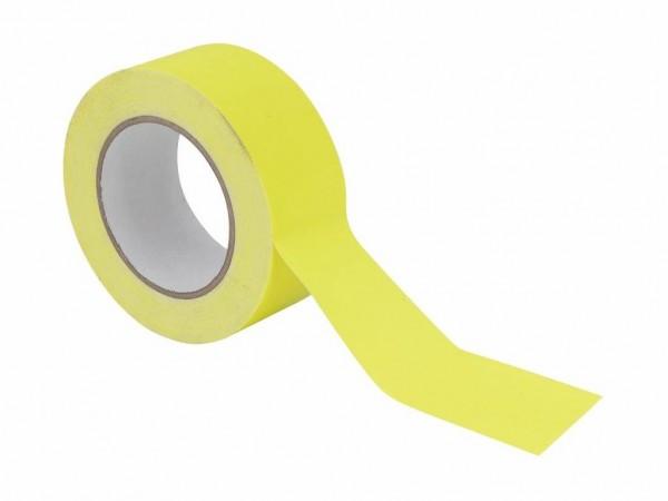 UV Gaffa Tape neongelb - 50mm x 25m - Schwarzlicht Aktives Gewebeband