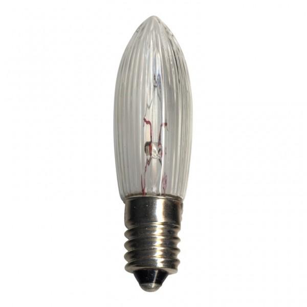 Ersatz-Leuchtmittel - E10 - 1,4V - 0,1W - Warmweiß - 3 Stück