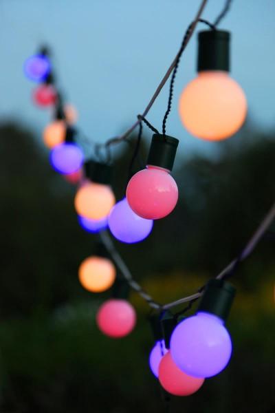 LED-Partylichterkette - Party Line Outdoor - 5,70m - 20x Bunt