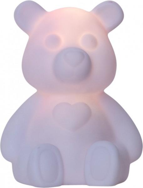 """LED-Figur """"Polly"""", Teddybär mit LED Farbwechsler - 18cm - Batteriebetrieb"""