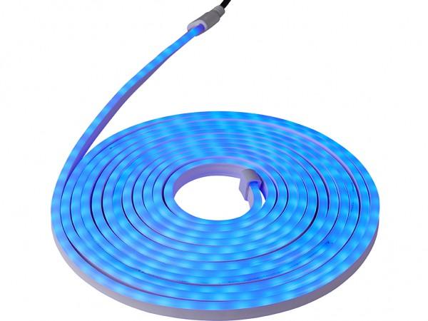 LED-NEON-Lichtschlauch | Zweiseitig | Outdoor | 360 LED | 6m | Blau