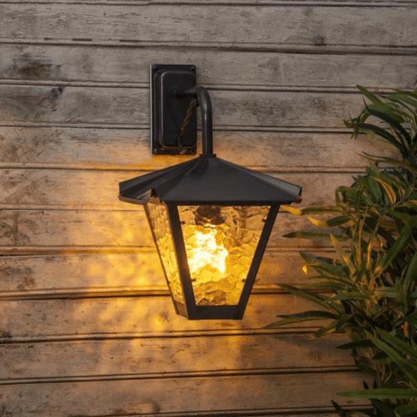 Flame Lamp Gravity - Flammensimulation mit LEDs | Flackernde Flammen | E27 | warmweiss