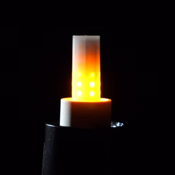 E-14 Flamelight - schöne Feuersimulation - Feuerlampe - Fackel-Simulation