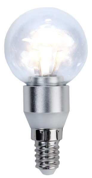 LED Kugellampe CRYSTAL P45 - 3W - E14 - warmweiss 2700K - 250lm - dimmbar