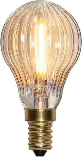 LED Leuchtmittel FILA GLOW P45 - E14 - 0,8W - warmweiss 2200K - 50lm - dimmbar