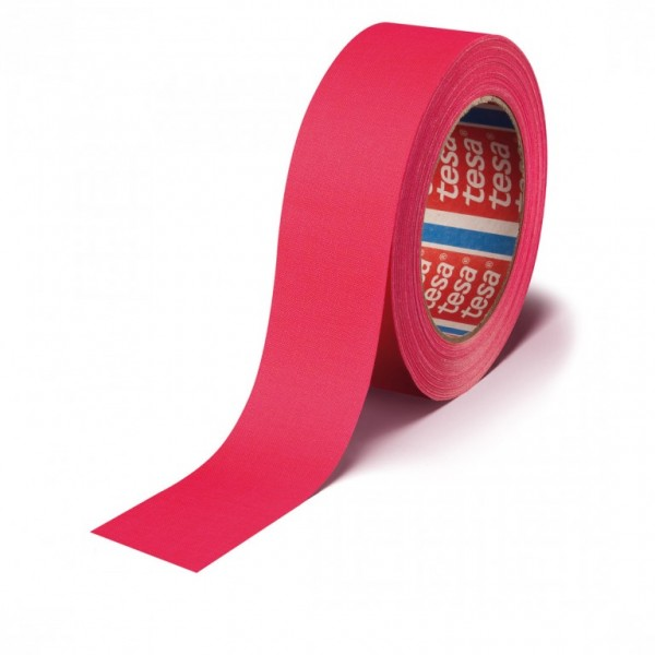 Stagetape / Gaffatape - 19mm x 25,00m - UV-aktiv - Pink (Highlight-Tape)