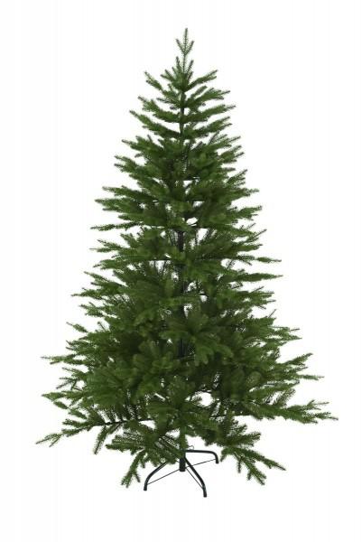 """Weihnachtsbaum """"Wasa"""" - H: 180cm, D: 130cm - Farbe: grün - Full-PE - mit Metallfuss - outdoor"""