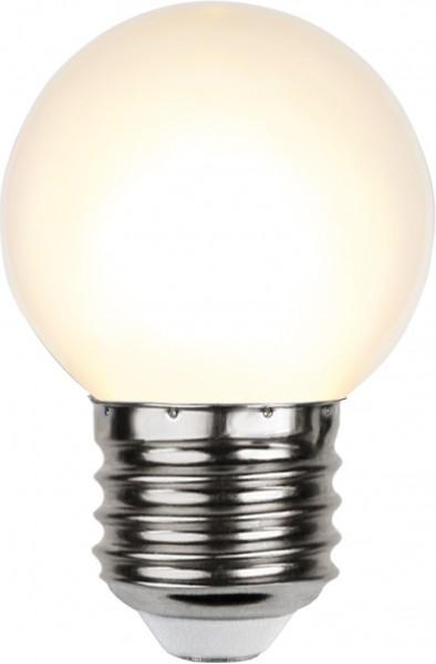 LED Leuchtmittel G45 - warmweiß 2700K - E27 - 1W