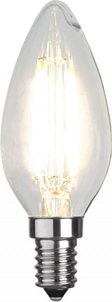LED Kerzenlampe FILA C35 - E14 - 4W - warmweiss 2700K - 470lm - klar
