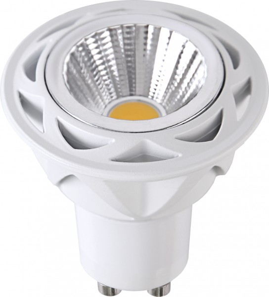 LED SPOT COB MR16 - 230V - GU10 - 36° - 7W - warmweiss 2700K - 470lm - dimmbar
