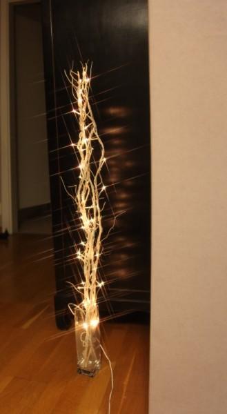 LED-Leuchtzweig - Willow Line Indoor - 1,15m - 60x Warmweiß - Weiß