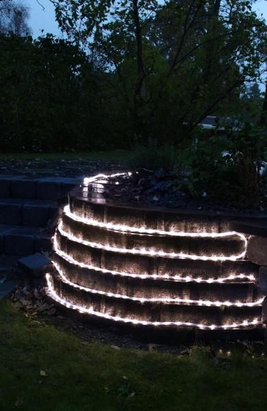 "System Decor ""LED-Lichtschlauch 5m, hellweiß - Wasserfest - ohne Trafo"