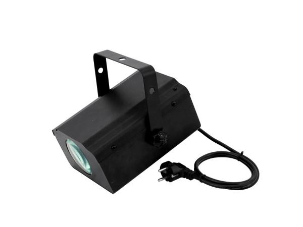 LED Flowereffekt - musikbewegter Projektor mit farbigen Punten/Strahlen, RGB, Programme
