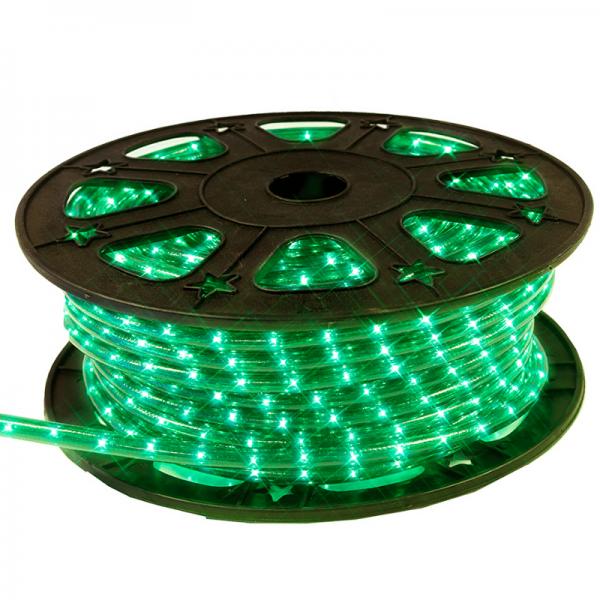 Lichtschlauch ROPELIGHT MICRO | Outdoor | 1620 Lampen | 45,00m | Kürzbar - grün
