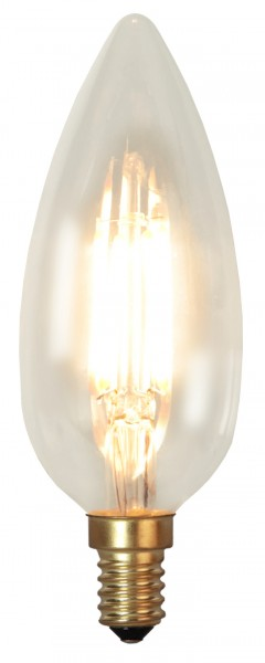 LED Kerzenlampe SOFT GLOW C45 - 3,5W - E14 - ultra-WW 2200K - 260lm - dimmbar