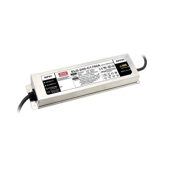 LED Netzteil / Treiber ELG-240-24DA-3Y - Dual Mode - Konstanspannung + Konstantstrom