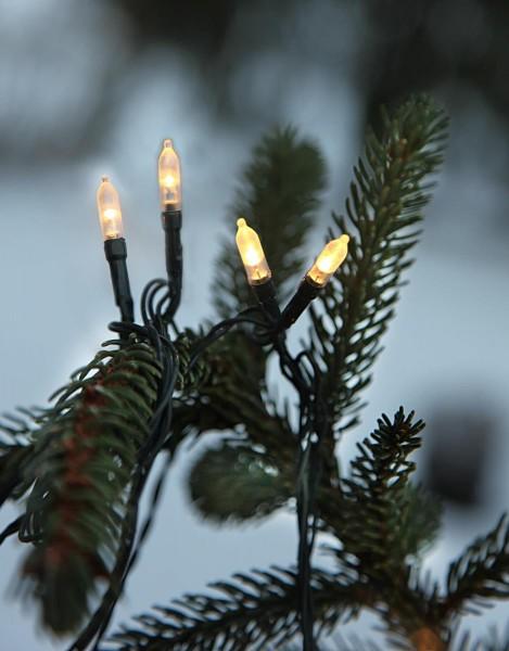 LED-Lichterkette - Garden Line Outdoor - 8m - 40x Warmweiß - Grün