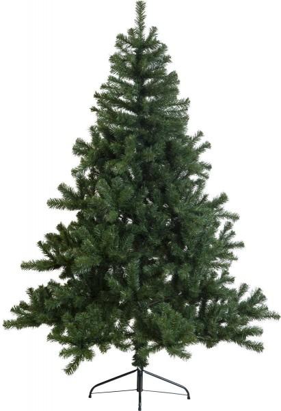 """Weihnachtsbaum """"New Quebec"""" - H: 180cm, D: 130cm - Farbe: grün - mit Metallfuss - outdoor"""