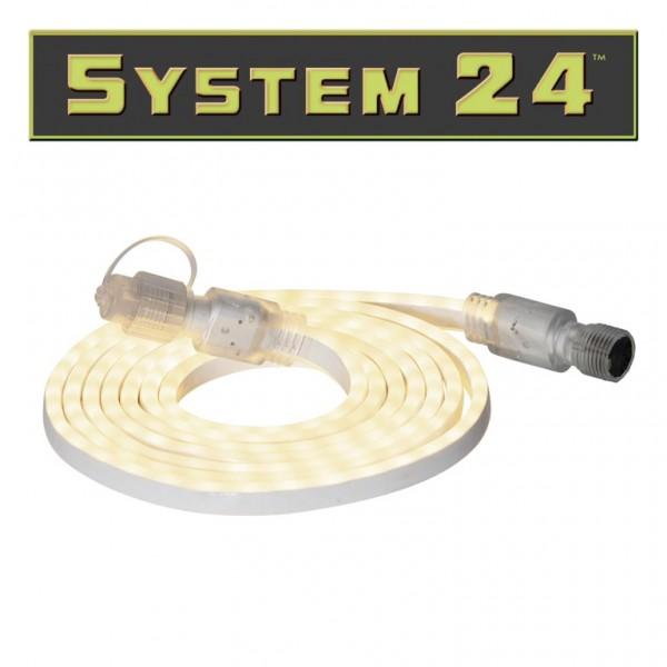 B-Ware System 24 | LED Lichtschlauch | 180 LEDs, warmweiß | koppelbar | exkl. Trafo | 3m | outdoor