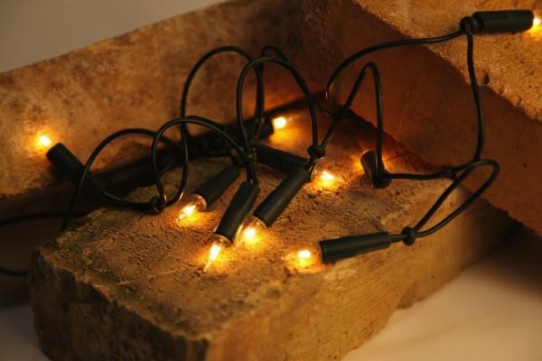 Weihnachts-Lichterkette   BASIC INDOOR   1.35m   10x Glühlampen   Warmweiß