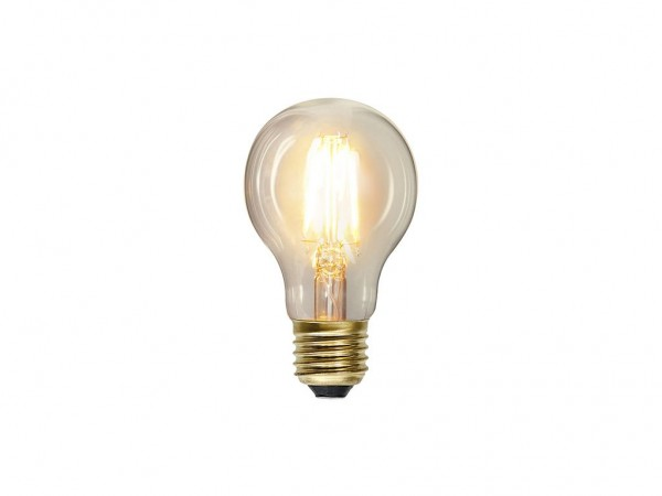Leuchtmittel - LED Filament - B: 6cm, H:11cm - 2,3W - E27 - 2100K - 230 Lumen - 80 Ra - EEK A++