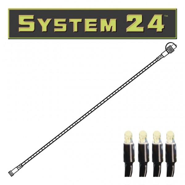 System 24 | LED Lichtschlauch | koppelbar | exkl. Trafo | 6,00m | 84x Warmweiß