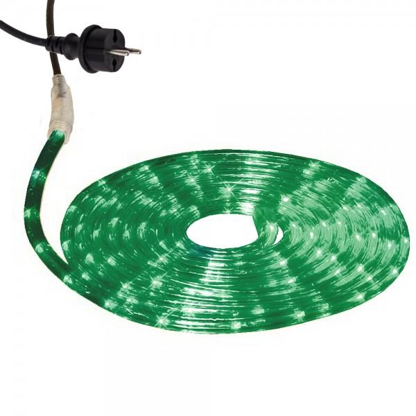Lichtschlauch ROPELIGHT MICRO | Outdoor | 216 Lampen | 6,00m - grün