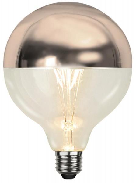 LED GLOBE FILA TOP COATED kupfer G125 - E27 - 4W - WW 2700K - 330lm - dimmbar