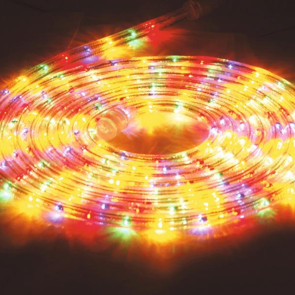 RUBBERLIGHT Lichtschlauch - Outdoor - RL1 - 180 Lampen - 5,00m - anschlussfertig - multicolor bunt