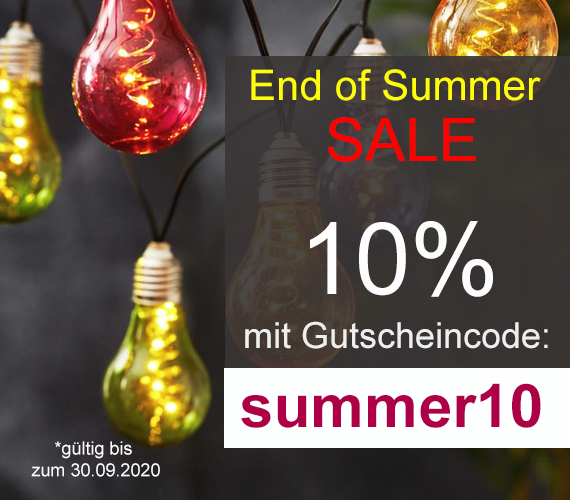 End of Summer Sale 10%