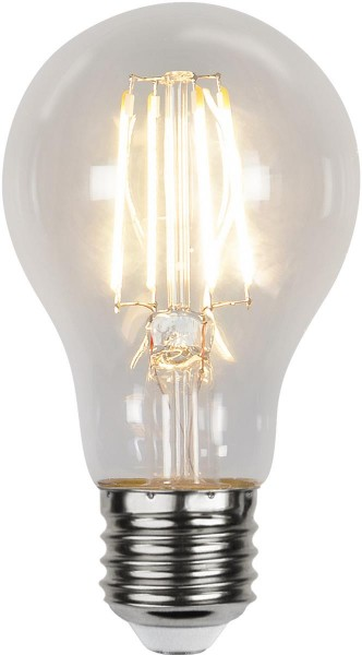 LED Tropfenlampe SENSOR-FILA A60 - E27 - 7W - warmweiss 2700K - 800lm - klar