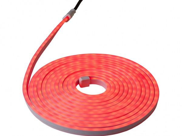 LED-NEON-Lichtschlauch | Zweiseitig | Outdoor | 360 LED | 6m | Rot