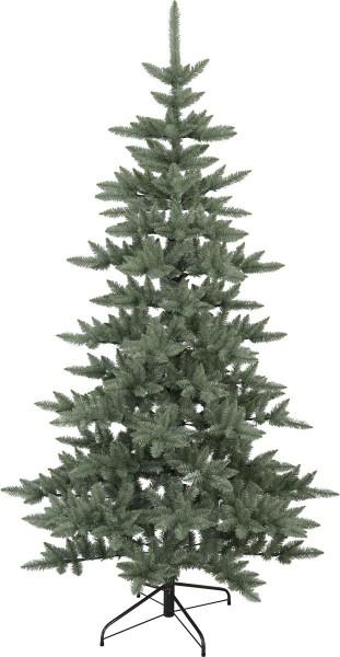 "Weihnachtsbaum ""Royal Blue"" - H: 225cm, D: 120cm - Farbe: grün - Metallfuss - outdoor"