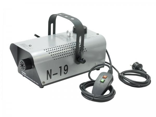 N-19 Kompakte 700-W-Nebelmaschine mit Kabelfernbedienung