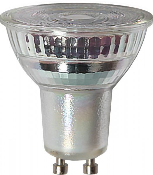 LED SPOT MR16 - 230V - GU10 - 25° - 6,5W - warmweiss 2700K - 500lm - dimmbar