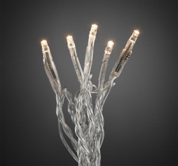 LED Microlichterkette - Kay Line - 2,38m - 35 x Warmweiß - Transparentes Kabel - Indoor