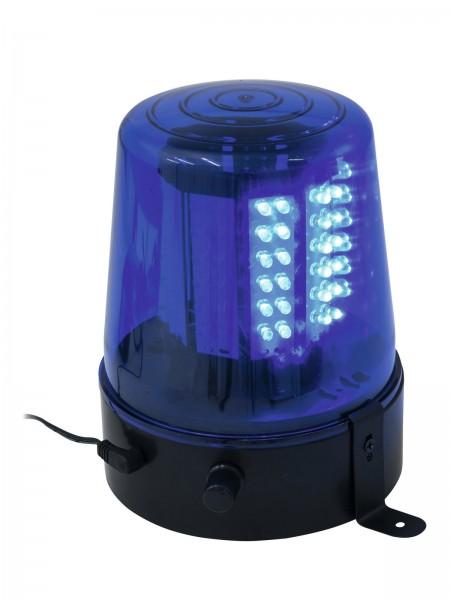 Polizeilicht Feuerwehrlicht LED BLAU - 108 LEDs - Geschwindigkeit regelbar - inkl. Netzteil